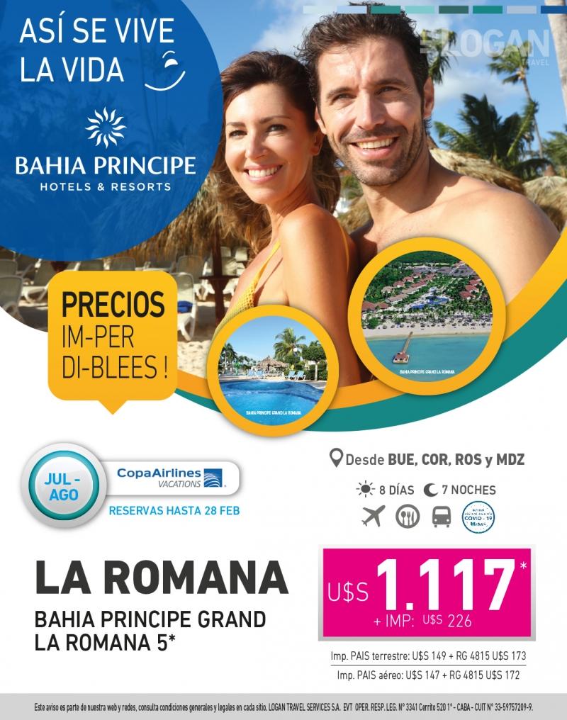 Disfruta la Romana con Bahia Principe