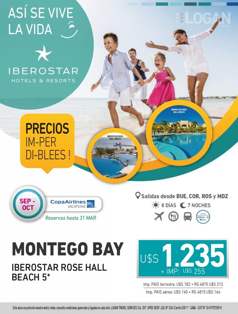 MONTEGO BAY A UN PRECIO INCREIBLE