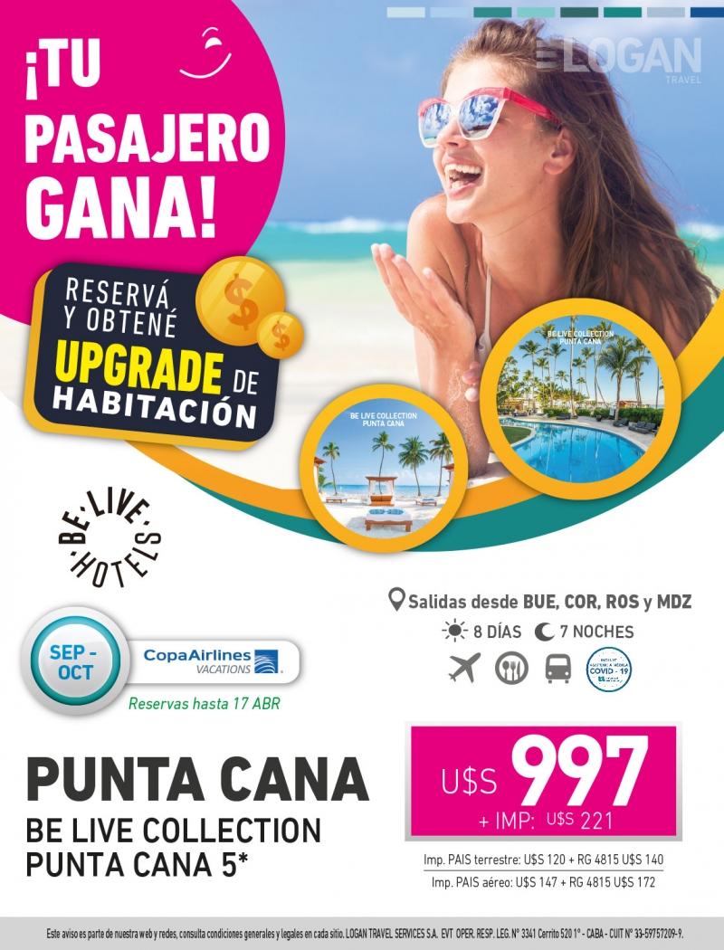 Tu Pasajero Gana: Be Live Collection Punta Cana