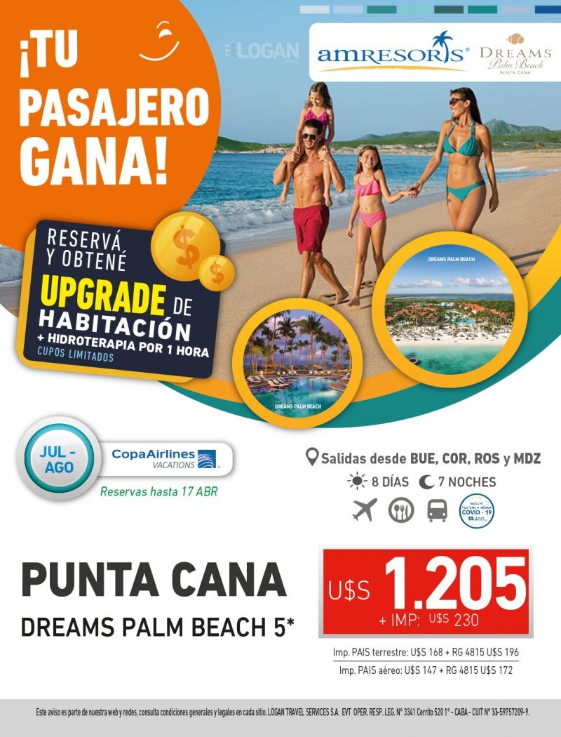 Tu Pasajero Gana: Dreams Palm Beach