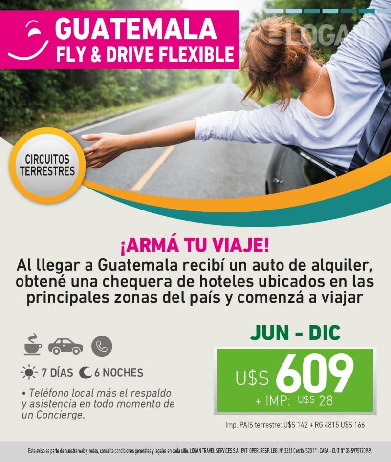 Guatemala Fly & Drive Flexible!