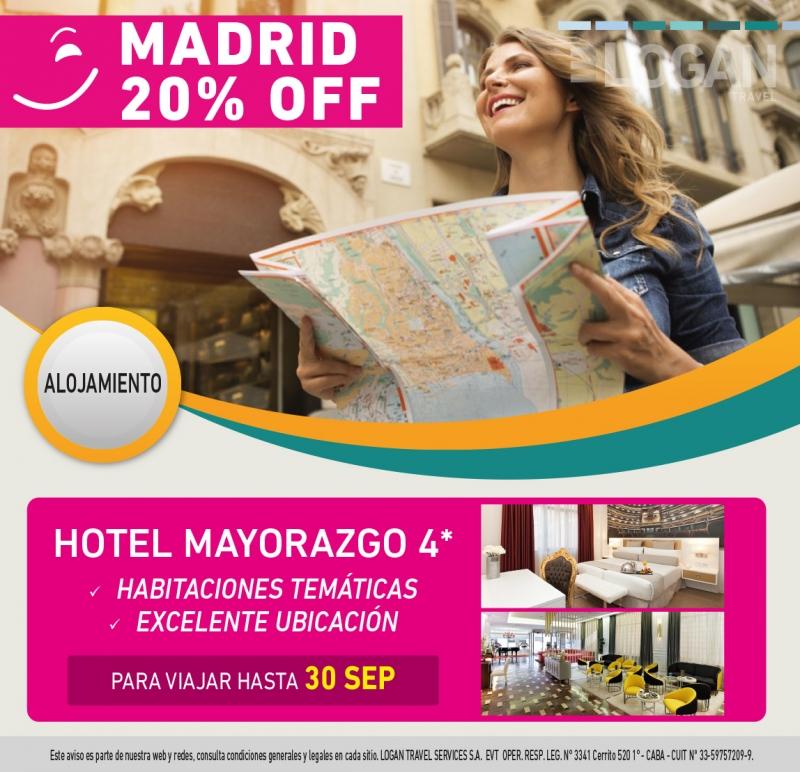 PROMO ALOJAMIENTO: MADRID