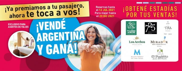 CAMPAÑA VENDE ARGENTINA Y GANA