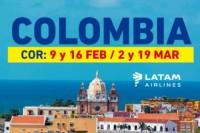 COLOMBIA con LATAM
