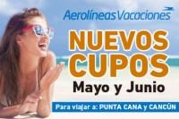 Nuevos Cupos con Aerolineas!