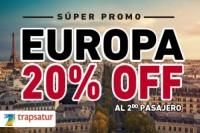Nueva Promo 20% OFF al 2do Pasajero