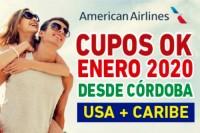 CUPOS OK - USA + CARIBE DESDE CÓRDOBA